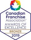 Candadian Franchise Association Awards of Excellence